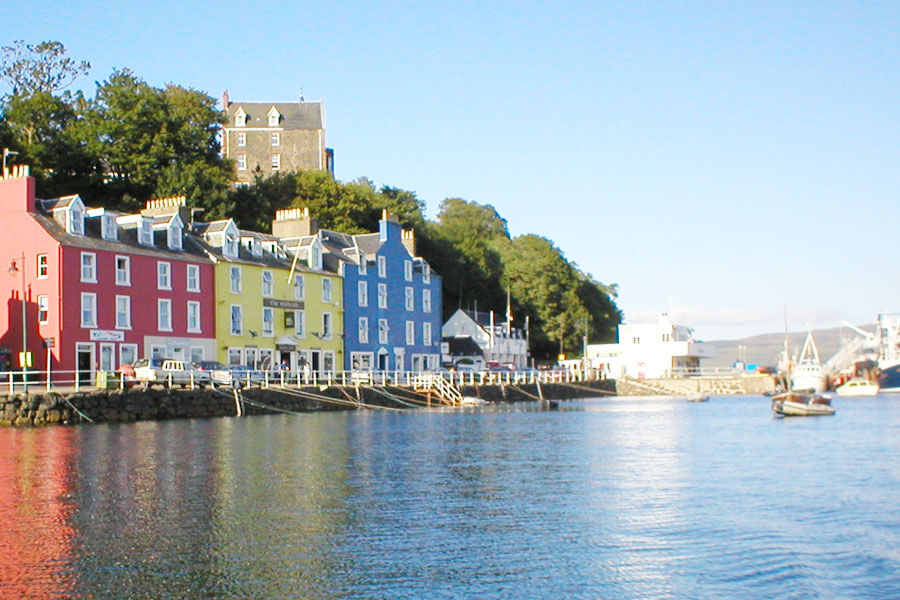 Across the water to Tobermory