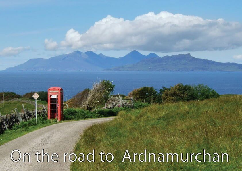 On the Road to Ardnamurchan
