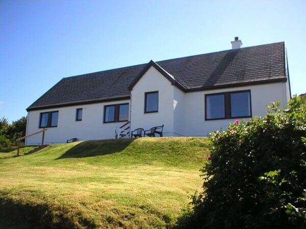 Eilean Feoir - Open fire cottages West Coast of Scotland