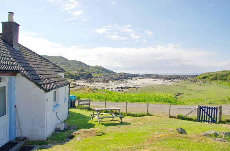 The Bungalow - Open fire cottages West Coast of Scotland