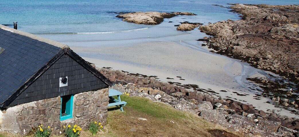 Rudh Dubh - Fireplace cottages West Coast of Scotland